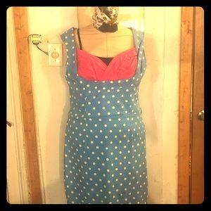 Pin up wiggle Dress